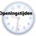 openingtijden